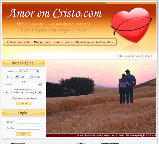 Tela do Amor em Cristo
