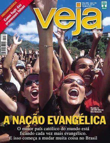 Veja Brasil a nacao evangelica